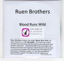 (EF457) Ruen Brothers, Blood Runs Wild - DJ CD