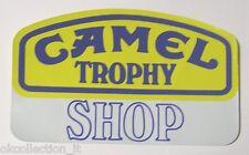 ADESIVO AUTO MOTO anni '80 / Sticker CAMEL TROPHY (cm 15 x 23)
