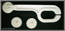 FONDANT ICING CUTTER EMBOSSER TOOL 3 WHEELS STITCHING CAKE DECORATING SUGARCRAFT