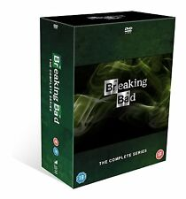 "BREAKING BAD COMPLETE SERIES 1-5 COLLECTION 21 DISC DVD BOX SET ""NEW&SEALED"""