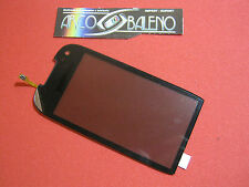 KIT VETRO + TOUCH SCREEN per Display NOKIA 701 Vetrino Nero Cover frontale NUOVO