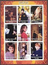 Congo 2001 Cinema Harry Potter Sheet imperf. MNH** Privat !