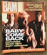 BAM MUSIC MAGAZINE - BABY LEMONADE -  R.E.M. PJ HARVEY WENDY LISA Oct 1998 #545