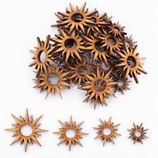 Wooden MDF Shapes Tarrot Sun Craft Scrapbooking Embellishments Card Decoration