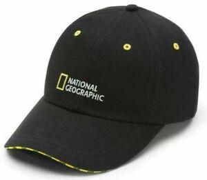 Vans National Geographic Baseball Hat Officially Licensed - Black