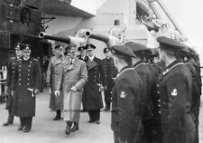GERMAN BATTLESHIP BISMARCK INC COMMISSIONING CEREMONY, VISIT OF HITLER-25 PHOTOS