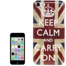 Cover iPhone 5C Apple modello bandiera UK Keep Calm Bumper Apple iPhone 5 C