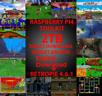 RETROPIE 4.6.1 TOOLKIT FOR RASPBERRY PI4 - CREATE YOUR OWN COLLECTION