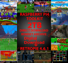 RETROPIE 4.6.5 TOOLKIT PER RASPBERRY PI2-PI3-PI4-DEMO GRATUITA A RICHIESTA