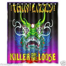 New Thin Lizzy Killer On The Loose Custom Fabric Shower Curtain 60x72 Inch