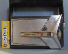 MOTOROLA 7X23E JET AIRPLANE WING TRANSISTOR RADIO 1959, WORKS WELL, FREE POSTAGE