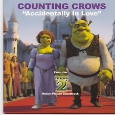 Counting Crows-Accidentally In Love promo cd single