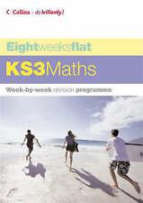 Eight Weeks Flat - KS3 Maths, Greaves, Helen, Very Good Book