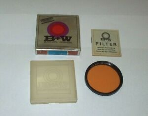 OLD NEW STOCK B+W 52MM KR 15 85 B SCREW IN FILTER WITH CASE AND BOX