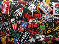 Logo Band Punk Rock Heavy Metal Embroidered Patch Iron Sew on jacket hat bag#001