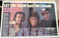 SHALAMAR 'train takes strain' 1982 UK ARTICLE / clipping