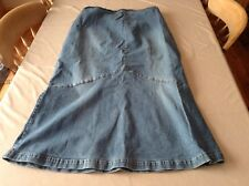 Ladies maternity long denim skirt size XL from Mamma at H&M
