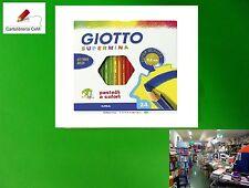 Stock di 10 Pacchi di Colori Pastello Giotto Supermina Matita da 24 Marca Fila