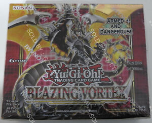 YUGIOH! BLAZING VORTEX BOOSTER BOX (24 PACKS) 1st EDITION -  IN STOCK NOW