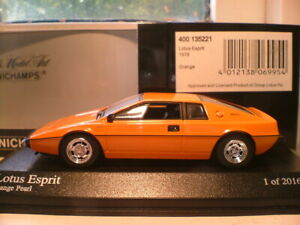 EXTREMELY RARE EARLY MINICHAMPS 1/43 1978 LOTUS ESPRIT OUTSTANDING DETAIL NLA