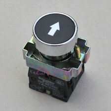 Telemecanique Arrowhead sign Momentary Push Button Switch NC + NO Contact Block