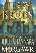 The Voyage Of The Jerle Shannara : Morgawr Terry Brooks 2002-Hbdj/1st-1st/New.