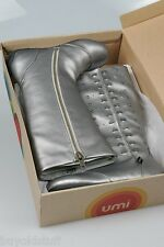 Umi Size 12 Silver Pewter Girls Kid's Fashion Boots NEW IN BOX Hadey