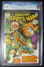 Amazing Spider-Man Comic #85 CGC 9.4 Schemer Revealed as Kingpin's Son