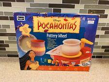 Roseart Disney Pocahontas Motorized Pottery Wheel Vintage 1990s Disney