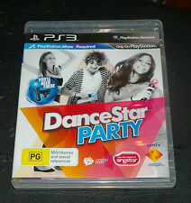 DANCESTAR PARTY - Sony PlayStation 3 PS3 Game