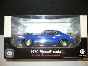 FIRST GEAR DIE CAST 1/25 NAPA 1970 PLYMOUTH `CUDA NIB