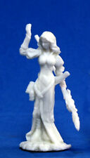 1 x HYREKIA MAGE DRAGONTHRALL - BONES REAPER figurine miniature jdr d&d humain