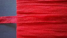 Peperoncino rosso pizzo leavers con cotone al netto di inserimento consente ritagliare Bambole Abiti Vestiti Abiti