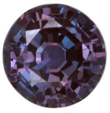 Lab Created  Pulled Alexandrite True Color Change Round Loose Stones