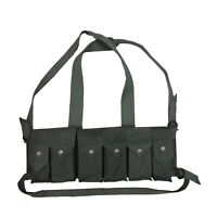 Rhodesian Fereday & Sons Chest Rig with Grenade Pocket OD Green - Repro P561