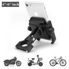 Mountain Bike Motorcycle Aluminum Phone Handlebar Mount Holder For 4''-6''inch