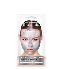 Bielenda Silver Detox Cleansing Metalic Mask for Oily Mixed Skin 8g
