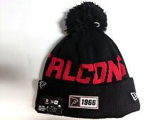 Atlanta Falcons Knit Hat New Era 2019 Sport On Field Sideline Road Cap NFL