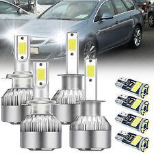 Für SEAT LEON 1M1 Toledo II 1M2 1999-06Scheinwerfer Birne Set H7+H1+T10 LED weiß
