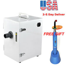 Dental Lab Digital Single-Row Dust Collector Vacuum Cleaner +Suction Base +Gift