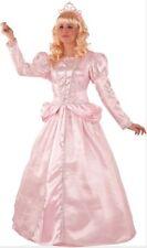 Déguisement Femme Princesse Rose XL 44 Costume Dessin Animé Aurore NEUF