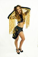 JBeka wings long fringe arm bands for raves, concerts, dances, festivals, edc