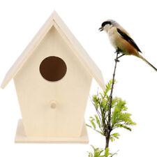 jardin en bois nichoir oiseau maison pour petits - Mésange Bleue ROBIN moineau