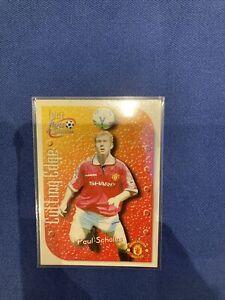 Futera Fans Selection 1999- Paul Scholes Manchester United Cutting Edge #5