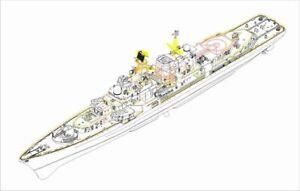 "Trumpeter 04542 - 1:3 50 Plan Ddg 139 Ningbo "" - New"