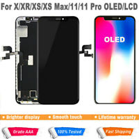 OLED LCD Display Touch Screen Digitizer Assembly For iPhone X XS Max 11 Pro Max