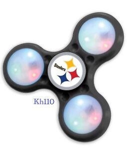 NFL Pittsburgh Steelers LED Light Fidget Spinner 100%Licensed-in Stock