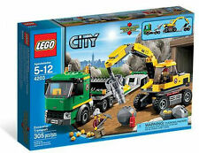 LEGO City Excavator Transport 4203 - Brand New Sealed
