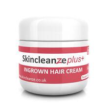 Skincleanze PLUS Ingrown Hair Treatment Cream Razor Bumps Shaving Rash 1 x 50g