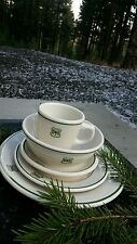 FOREST SERVICE  DISHWARE. 5 COMPLETE  piece setting.